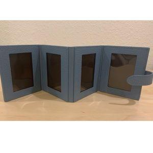 NWT Leatherology Mini Wallet Multi Photo Frame